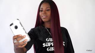 DIY Quick Weave Ft Outre Purple Pack Brazilian Boutique Hair |Beauty Supply Slay