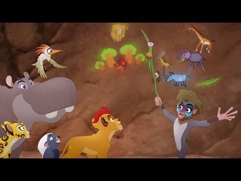 Lion Guard: The Wisdom on the Walls song | Cave of Secrets HD Clip
