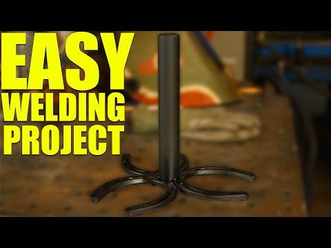 🔥 Simple Horseshoe Welding Project