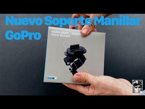 Nuevo Soporte Manillar - Sillín GoPro