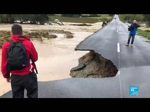 Flash floods kill at least 13 in Southwestern France