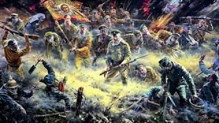 Kadr z teledysku The Attack of the Dead Men tekst piosenki Sabaton