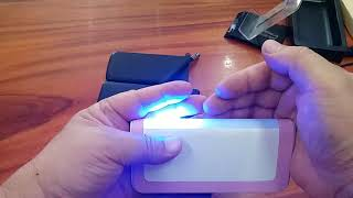 Tqka  7500mAh พลังงานโทรศัพท์กับผู้ถือขาตั้งแท็บเล็ตพับ SOS แสงและไฟฉาย