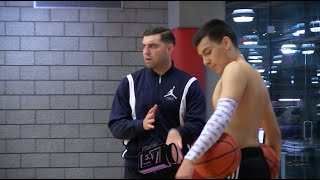 Johnny Diaz Training Session With Shadow Mountain Coach August Mendes