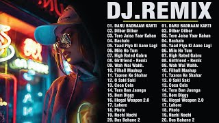 Latest Bollywood Remix Songs 2021 - New Hindi Remix Songs 2021 - Remix - Dj Party - Hindi Songs