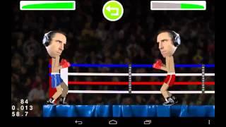 WIP boxing game