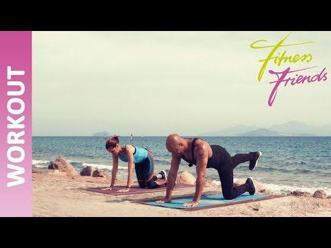 Bikini-fit in 6 Wochen - Workout (1) II FitnessFriends