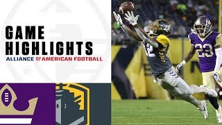 Atlanta Legends vs. San Diego Fleet | AAF Week 2 Game Highlights