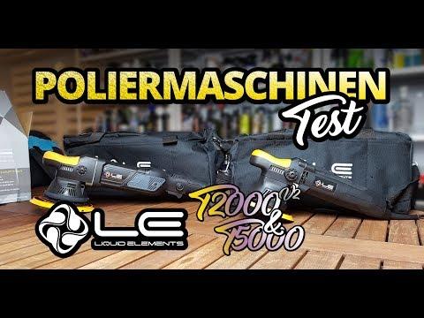Poliermaschine im Test | Liquid Elements T2000 V2 & T5000 | Poliermaschinen für Anfänger