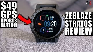 Zeblaze Stratos REVIEW: Is This A Real Sports Watch?