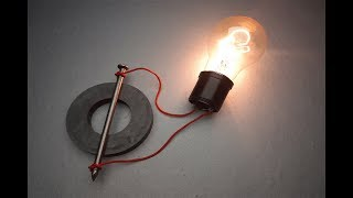WOW Experiment Electric Science Magnet & Speaker / New Ideas Free Energy 100%