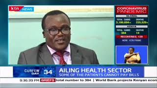 Ailing health sector: Patients at risk of contracting COVID-19 due to congestion in Bungoma Hospital
