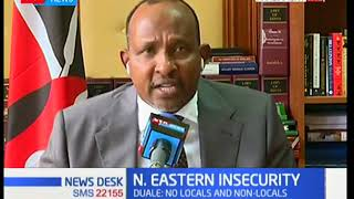 Non local teachers seeking transfers as a result of insecurity in Wajir