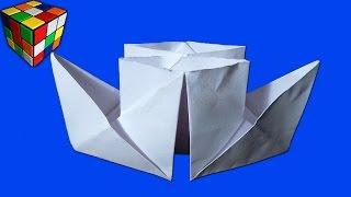 Как сделать пароход из бумаги. Пароход-кораблик оригами своими руками. Поделки из бумаги