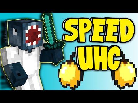 Minecraft - SPEED UHC W/AshDubh