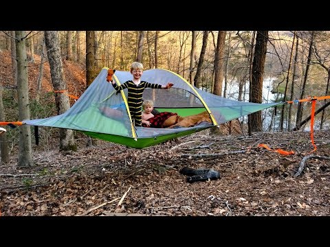 Hammock tent camping WIN or FAIL??? – Tensile Stingray 3 person tent review