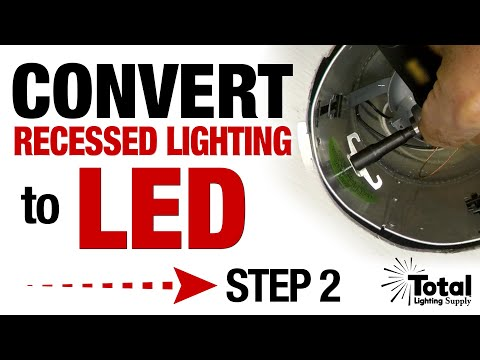 Convert my Recessed Lighting Downlight with LED Trims Step 2 - Installing Torsion Spring Bracket Clips