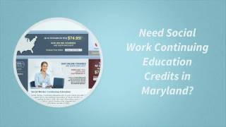 Social Work Continuing Education in Maryland | 718-608-6000