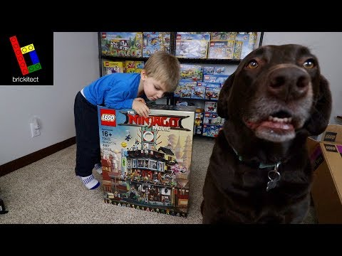 LEGO NINJAGO CITY IS HERE!