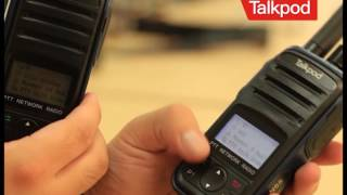 How Talkpod America N55G Radios send a SOS Emergency Alert to our Dispatch Software for your personn