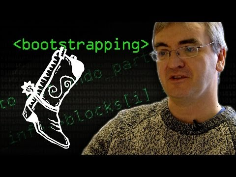 What Do Coders Mean When They Talk About Bootstrapping?