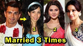 9 Bollywood Actors Who Got Married 3 Times Or More | Most Shocking