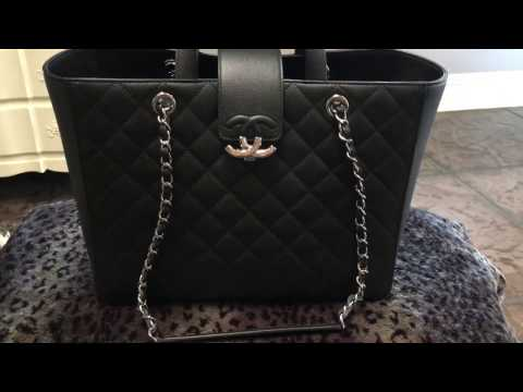 "Chanel Large ""CC Box"" Shopping Tote Review"