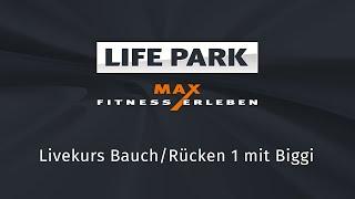Bauch/Ruecken (Live-Mitschnitt vom 02. April 2020) mit Biggi