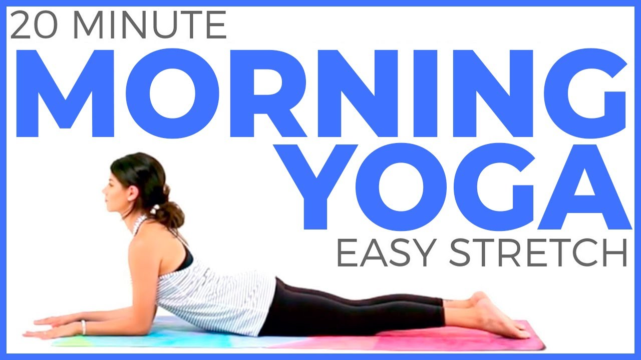 20 minute Easy Morning Yoga for Posture & Positivity