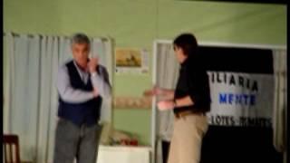 preview picture of video 'Teatro en Sierras Bayas: el sultan de la oficina - Acto 1'