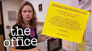 The Dirty Microwave - The Office US