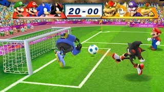 Video Mario & Sonic At The London 2012 Olympic Games Football Shadow, Sonic, Mario, Luigi | JinnaGaming MP3, 3GP, MP4, WEBM, AVI, FLV September 2019