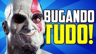 5 MANEIRAS INSANAS DE BUGAR GOD OF WAR! - com Victor Kratos