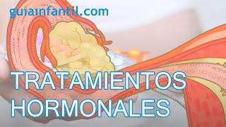 Tratamientos hormonales para el embarazo. Posibles efectos secundarios