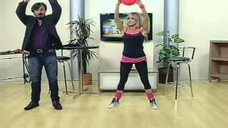 Programa Toda Tarde - Tv Transamérica PARA FAZER EM CASA -Exercícios Aeróbicos