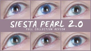 Siesta Pearl Contacts 2.0: All Colors - Sparkling AND Natural?
