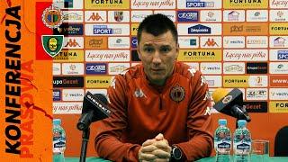 Wideo: Konferencja prasowa po meczu Chrobry Głogów - GKS Katowice 4:0