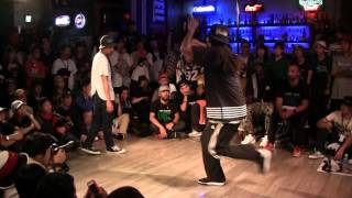 AKIHISA vs ICEE @ HIPHOP FOREVER JAPAN 2015 FINAL: 5th ROUND