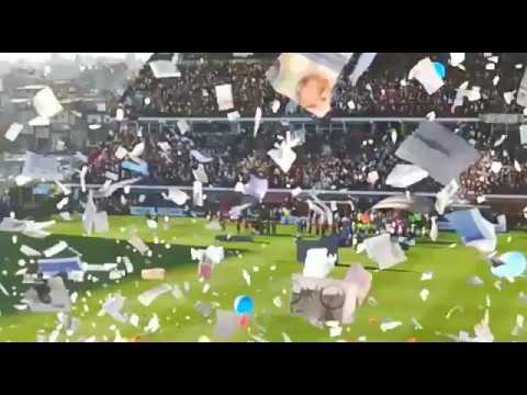 """RECIBIMIENTO DE SAN LORENZO VS BOCA, IMPRESIONANTE!!"" Barra: La Gloriosa Butteler • Club: San Lorenzo"