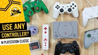 N64 controls on the SNES Classic & Playstation Classic! (Tutorial