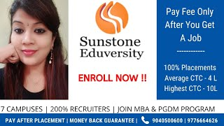 Sunstone Eduversity - Pay After Placement