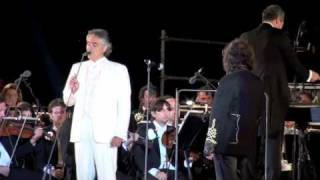 Miserere by Zucchero & Andrea Bocelli, Teatro del silenzio in Lajatico, Tuscany
