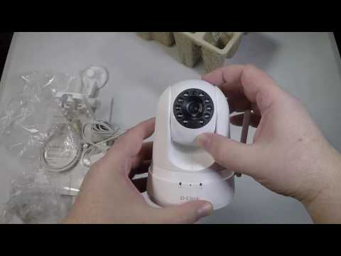 D-Link DCS-5030L HD Pan & Tilt Wi-Fi Day/Night Security Camera Unboxing Review