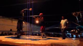 preview picture of video 'Lucha Libre en Chetumal Primera Caída'