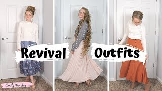 What I Wore To Revival | Modest Outfits