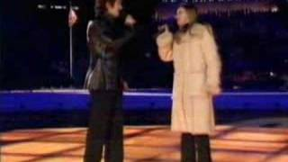 Charlotte Church & Josh Groban - The Prayer - Salt Lake 2002