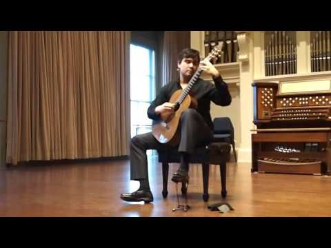 3rd Movement of Sonata III by Manuel Ponce