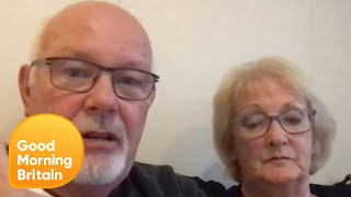 Couple Are Scared of Being Separated on Coronavirus Infected Cruise Ship | Good Morning Britain