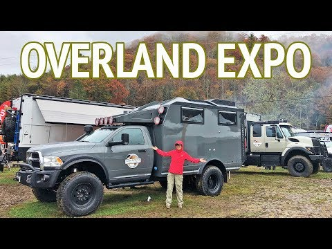 Overland Expo 2018 - 4x4 Off-Road Expedition Vehicles