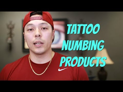 5 Popular Tattoo Numbing Products
